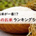 新潟のお米ランキング5位!三大名産地(魚沼、岩船、佐渡)と新之助食べ比べた感想は?